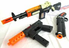 3x Toy Guns! Electronic M1 Toy Rifle, Sawed-Off Shotgun & KG-9 J Cap Gun Set