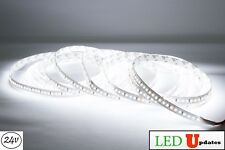LEDupdates White LED Strip 24v High Grade 2216 90CRI + UL Power 6000k