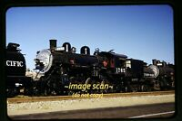 SP Southern Pacific Steam 1765 in California in 1950's, Original Slide e4b