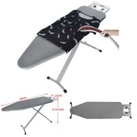 48 Inch Heavy Duty Steel Adjustable Ironing Board With Iron Rest, Made In USA