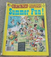 1974 Cracked Magazine - Summer Fun Collectors' Edition! Published 1979-comic Mad