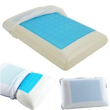 Cooling Orthopaedic Memory Foam Cervical Pillow Gel Firm Head Neck Back Large
