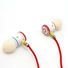 iBeats Headphones- In-Ear Noise Isolation (White) Stained