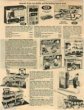1967 PAPER AD Race Set Aurora Thunderjet A-Jet Batmobile Ideal Corvette Batman