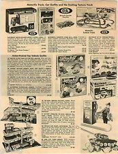 1967 PAPER AD Race Set Aurora Thunderjet A-Jet Batmobile Ideal Corvette Batman