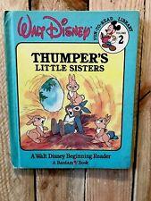 Walt Disney Fun to Read Library-Thumper's Little Sister-Vintage 86