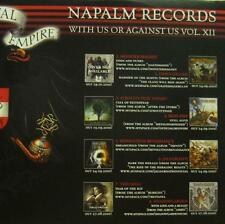 Various Metal(CD Album)With Us Or Against Us Vol.XII-NaPALM-NPR 350-New