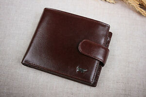 Men's Genuine Leather Brown Braun Buffel Wallet