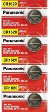Panasonic 4 x CR1620 CR 1620 DL1620 3V Lithium Button Cell Batteries