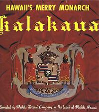 "HAWAII's MERRY MONARCH ""Kalakaua"" Vinyl 33 LP Island Music Record Album EX Mono"