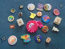 collection of old badges (aw