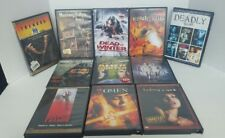 Lot Of 11 Horror Thriller Sci-Fi Movie Dvd Videos