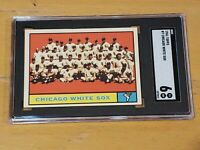 1961 Topps #7 Chicago White Sox SGC 6 Newly Graded