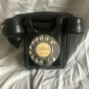 Vintage, Art Deco, Bakelite Wall Telephone: No 311 Siemens Brothers London Rare