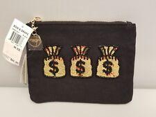 Bow & Drape 'MONEY BAGS' Pouch, change, phone purse, make-up Macys