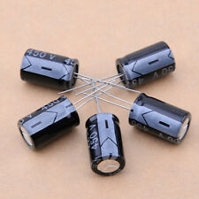 5pcs 450V 22UF Black Electrolytic Capacitor 13mm 21mm 105C Aluminum Electrolysis