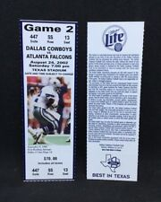 2002 Dallas Cowboys vs. Atlanta Falcons Game 2 Emmitt Smith Rushing Record Run