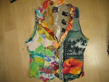 Jams World Ladies Vest -Small -Dave Rochlen Article Fabric -Vguc