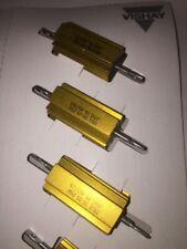 Dale Rh 25 3 Pack 25 Watt 05 Ohm 1 Power Resistors Brand New In Package