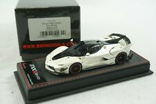 1/43 BBR FERRARI FXXK EVO FUJI WHITE/BLACK ROOF DELUXE BLACK LEATHER LE 50 PC MR