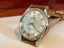 OMEGA Vintage 1962 Mens Constellation Automatic Pie Pan Watch CAL 551 + BOX