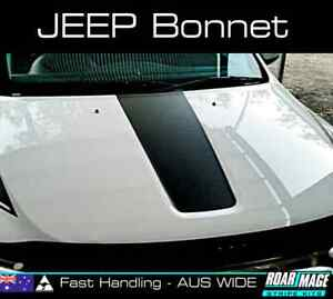 2011 - 2016 JEEP GRAND CHEROKEE bonnet stripe decal sticker stripes decals SRT
