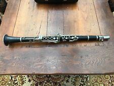 More details for vintage leslie sheppard cased clarinet