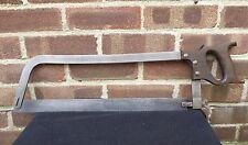 Vintage 1952 Crowsfoot E Garlick & Sons Bone Saw Hacksaw Old Tool