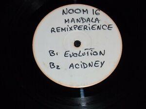 Vintage Vinyl  1995  Mandala – Remixperience Electronic Trance ( NOOM 016-6)
