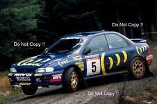CARLOS SAINZ SUBARU IMPREZA 555 RAC Rally 1995 Fotografia
