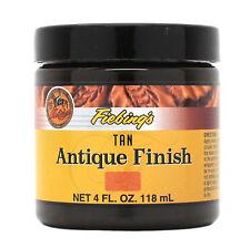 Fiebing's Antique Finish Tan Paste 4 oz 21980-04 Leather Dye Stain