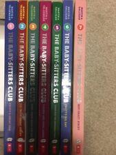 The Baby-Sitters Club Graphic Novels 1-7 Set Raina Telgemeier 1 2 3 4 5 6 7 lot