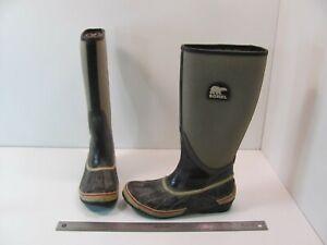 WOMENS SOREL RAIN BOOTS SORELLINGTON NL1620-205 SIZE 7 EU 38.5