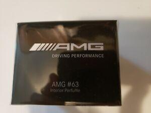 New OEM Mercedes-Benz AMG 63 Fragrance Perfume Bottle Jar Air Freshener S63 E63
