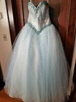 SWEET 16 MORI LEE BY MADELINE GARDNER SWEET 16 DRESS WORN ONCE FOR THE OCCASION