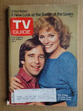 TV GUIDE 1980 BEAU BRIDGES United States-HENRY FONDA Gideon's Trumpet-CHOPPERS