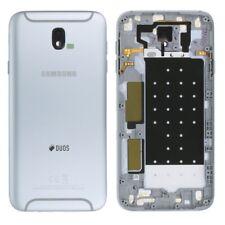 Samsung gh82-14448b Tapa de batería para Galaxy J7 j730f 2017 Duos plata NUEVO