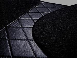 Black Loop Carpet Set for Renault 4CV Baujahr 1946–1961