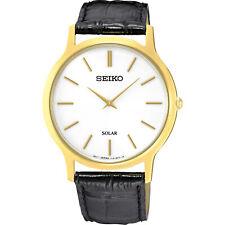 Seiko  Black/White Mens Watch SUP872P1