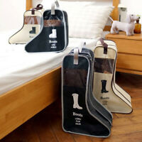 2PC Bag Storage Case Boot Shoe Travel Dustproof Boots Carry Protector Organizer