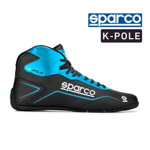Go Kart - Sparco Kart Boots - K-POLE - Black/Blue (NRAZ) -42