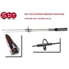 NR-770S ANTENNE DUALBAND TRANSMETTRE VHF/UHF 144 / 430 MHz 43 Cm