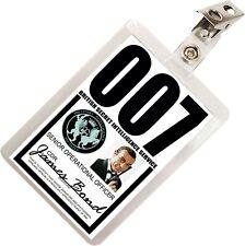 James Bond 007 MI6 SIS ID Badge Name Tag Card Prop for Costume & Cosplay JB-3