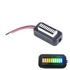 1PCS 3-30V Adjustable Voltmeter Multicolor Led Display Panel Lithium Battery