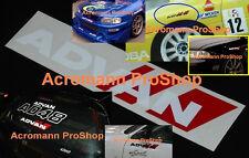 "2x 6"" 15.2cm ADVAN Sport Decal Sticker avs yokohama vinyl racing sentra WRX JDM"