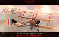 1/48 Eduard Models SOPWITH TRIPLANE British BLACK FLIGHT *MINT*