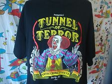 PENNYWISE spooky clown horror circus punk rock halloween heavy metal T Shirt 3XL