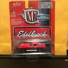 1/64 M2 DRIVERS EDELBROOK 1966 CHEVROLET CORVETTE COUPE RED