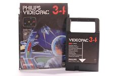 VINTAGE PHILIPS G7000 CONSOLE COMPUTER -- VIDEOPAC 34 -- SATELLITE ATTACK GAME
