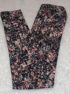 LuLaRoe kids L/XL Black Stars Pink Red Mint New leggings 8-12 NWT Large XLarge
